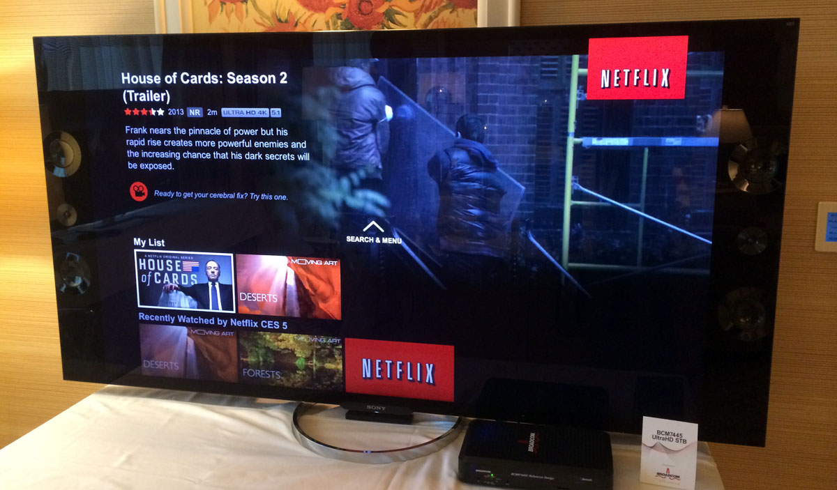 Smart TVs and boxes with 4K Netflix