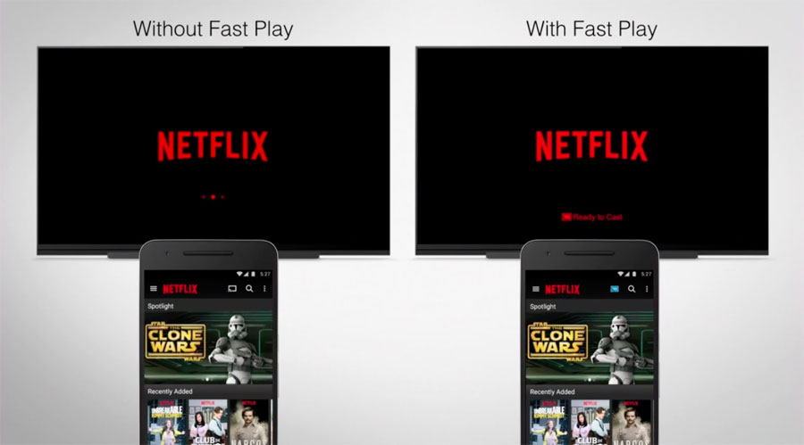 Fast Play Google Chromecast