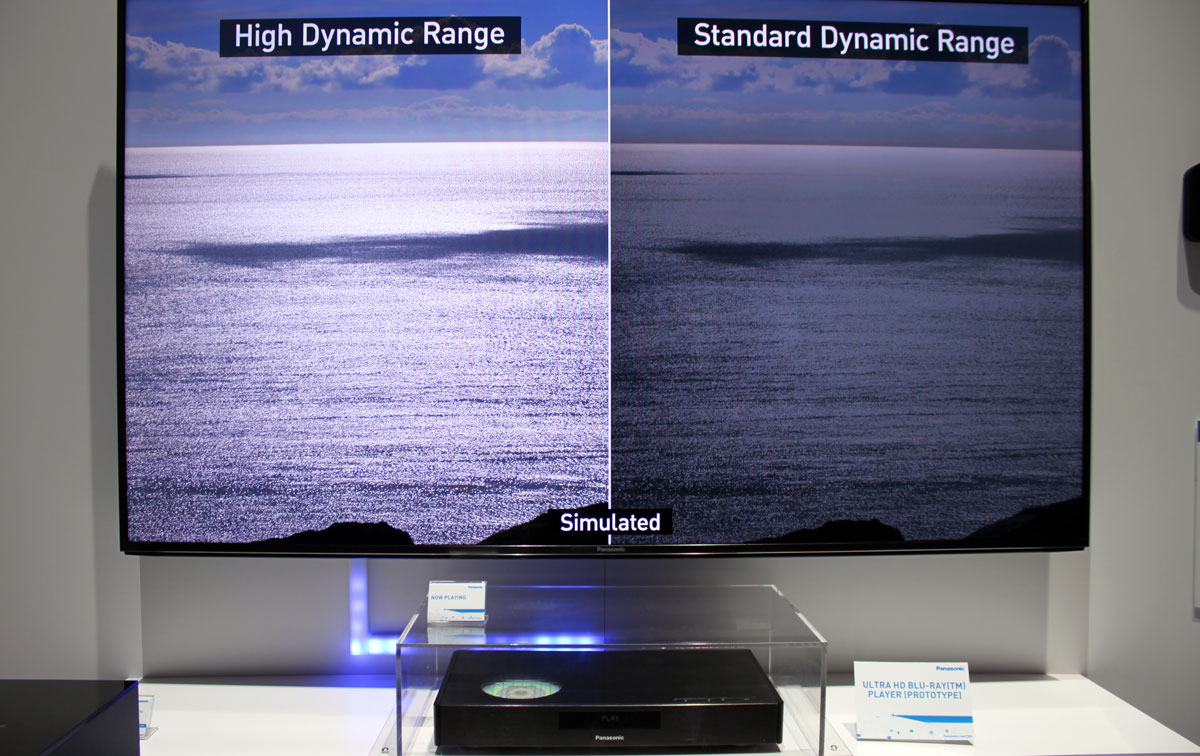 Panasonic's new Ultra HD Blu-ray Player - Image via FlatPanelsHD