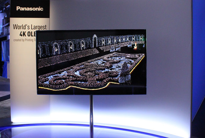 Panasonics 4K OLED-TV