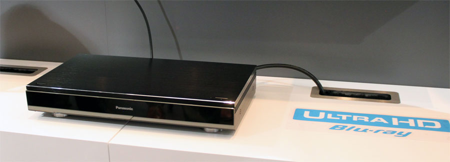 Panasonic UHD Blu-ray