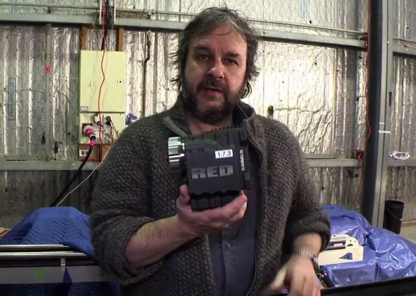 Peter Jackson tells about Red Epic cameras with 5K resolution