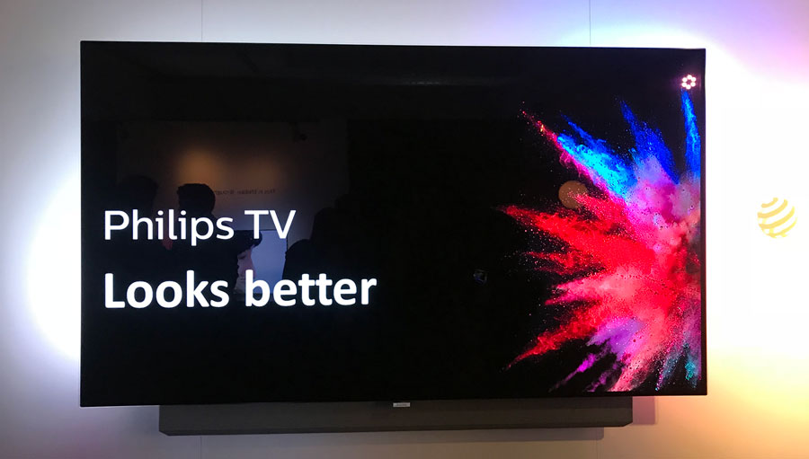 Philips 2018 OLED hands-on