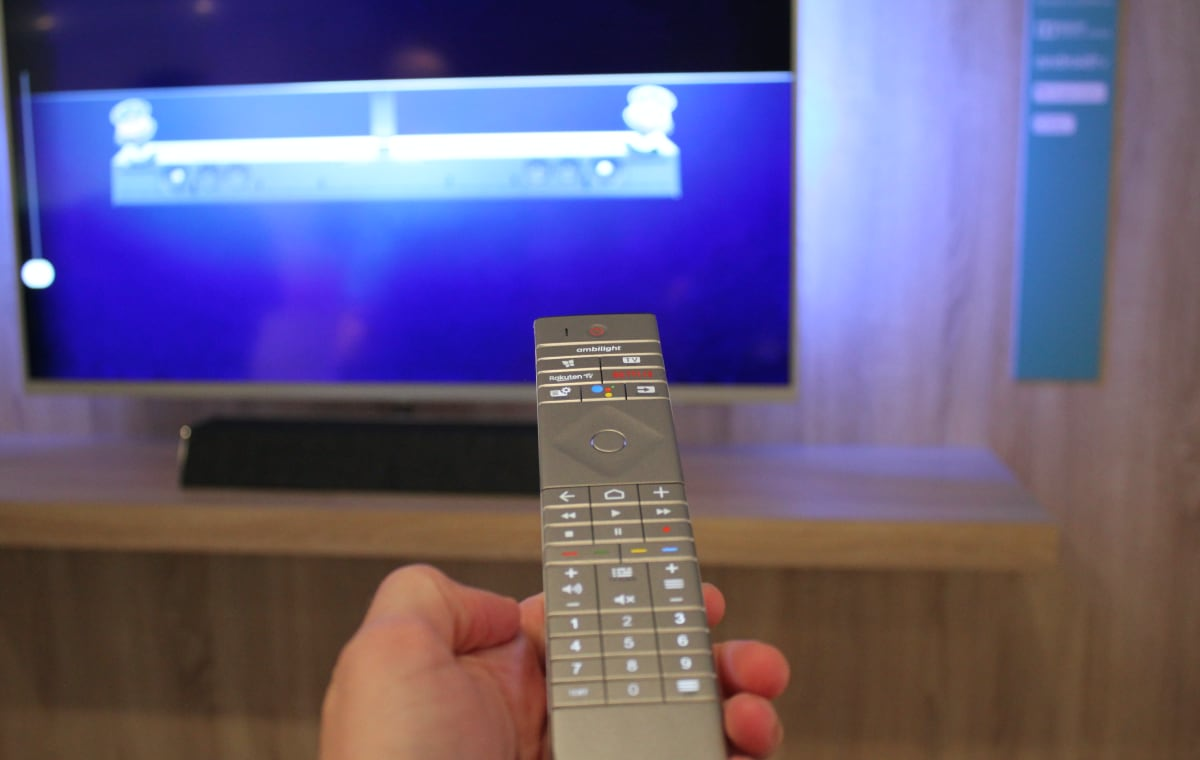 Philips 2020 TV remote control
