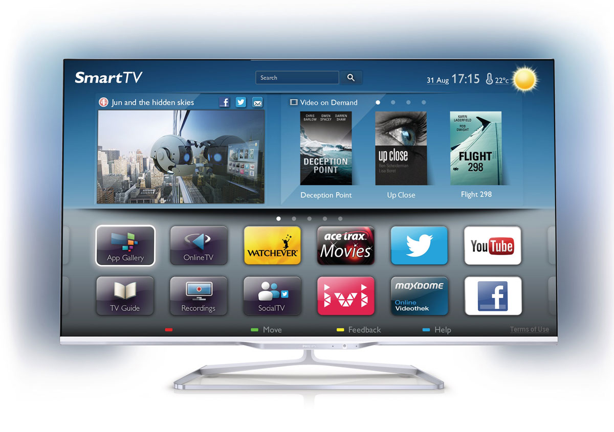 Philips Presents 2013 Smart Tvs With Multi Room Flatpanelshd # Television Moderne