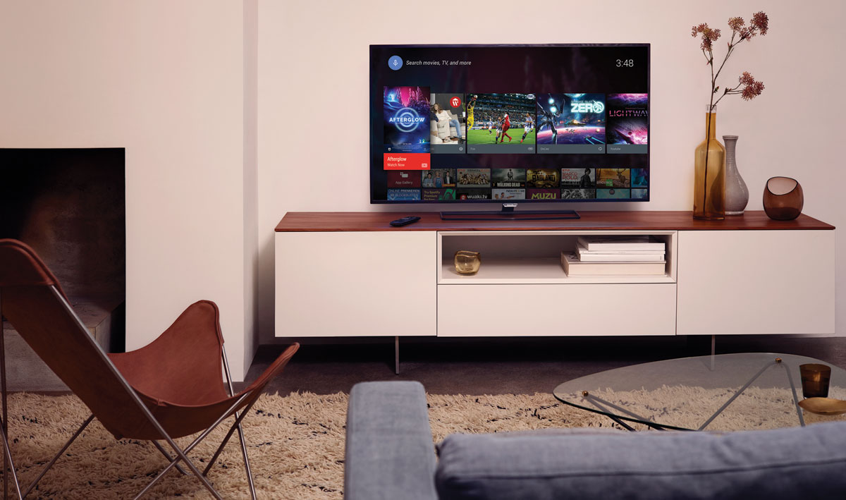 how to set up philips tv