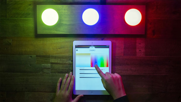 Philips Hue iPad