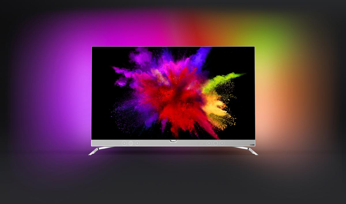 Philips Unveils 55 Quot Oled Tv With Ambilight 4k Hdr
