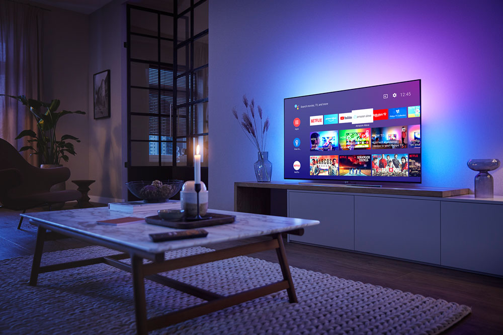 Android 9 Pie på Philips TV