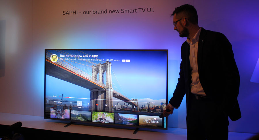 Philips Saphi Smart TV