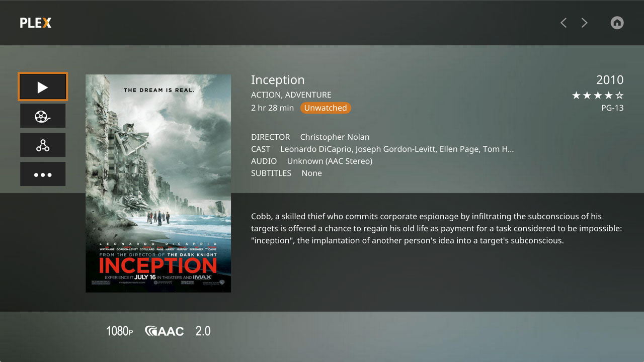 The new Plex Media Player for PC supports 4K - FlatpanelsHD