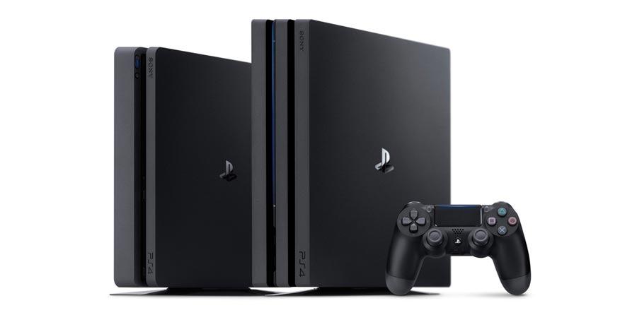 PS4 Slim and PS4 Pro