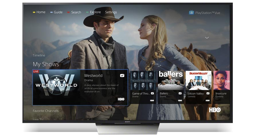 PS Vue on Android TV