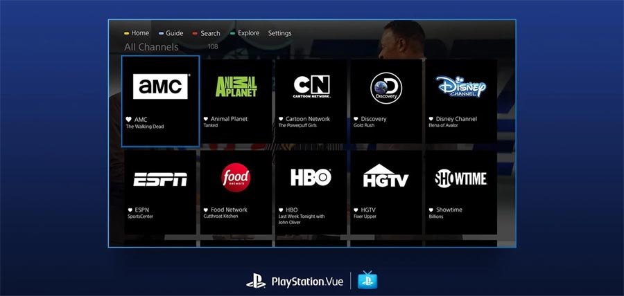 Playstation vue now available on the web flatpanelshd