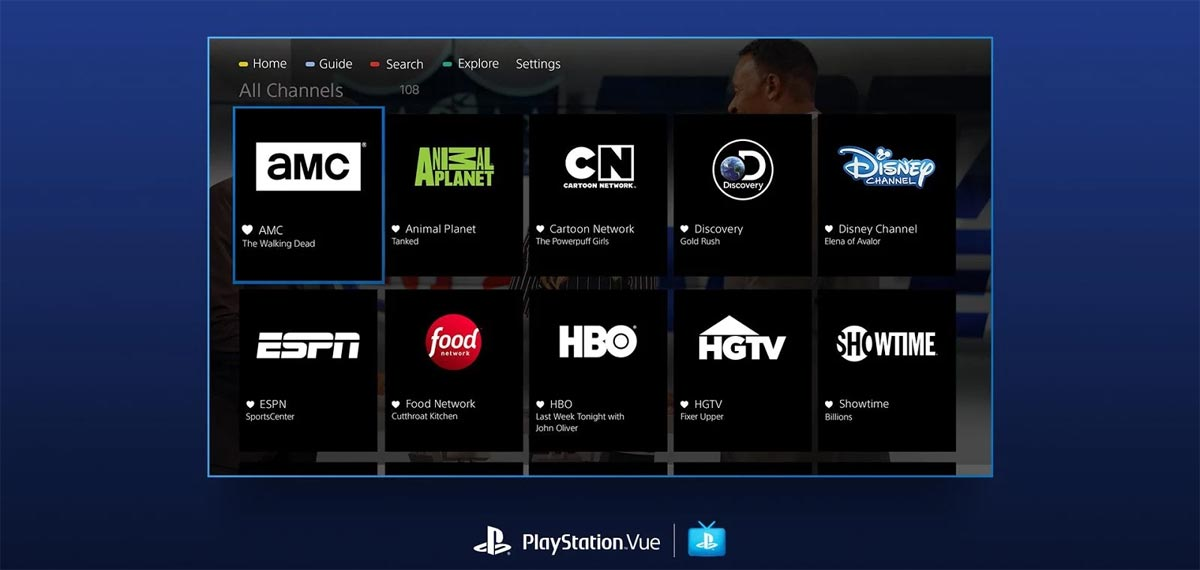 PlayStation Vue comes to Android TV - FlatpanelsHD