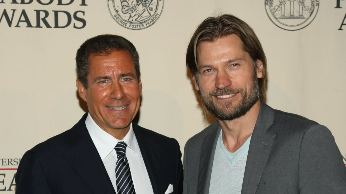 Richard Plepler and Nikolaj Coster-Waldau