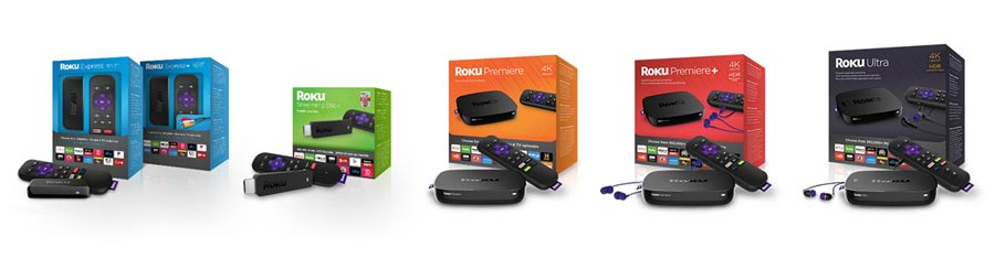 Roku 2016 streaming players