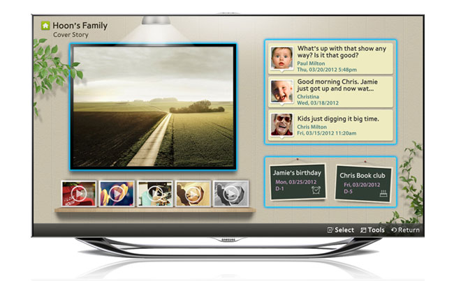 Samsung�s 2012 TV line-up