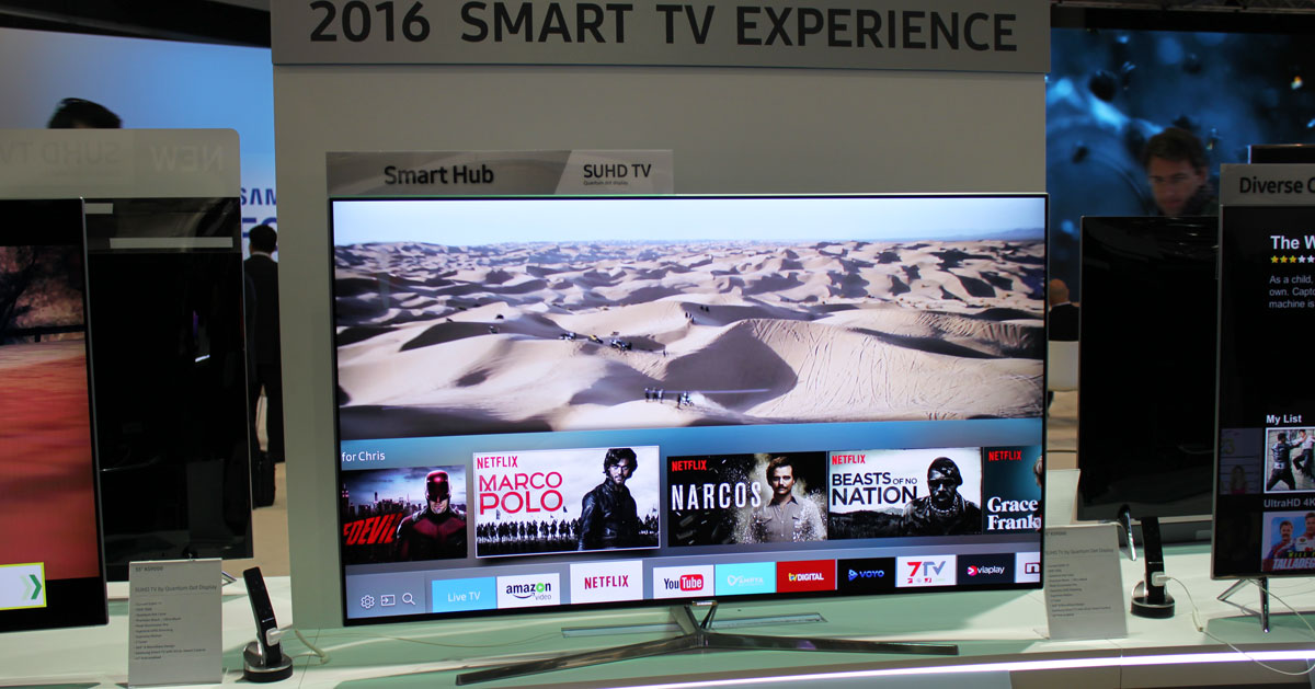 See what's new in Samsung's 2016 Tizen Smart TVs - FlatpanelsHD