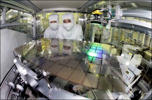 5.5G OLED-substrate that can be cut into smaller panels