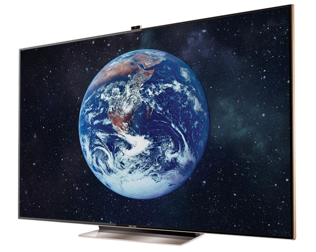 Samsung presents the 75-inch ES9000 Smart TV