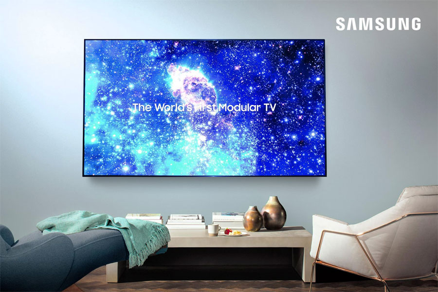 Samsung 75-inch microLED TV
