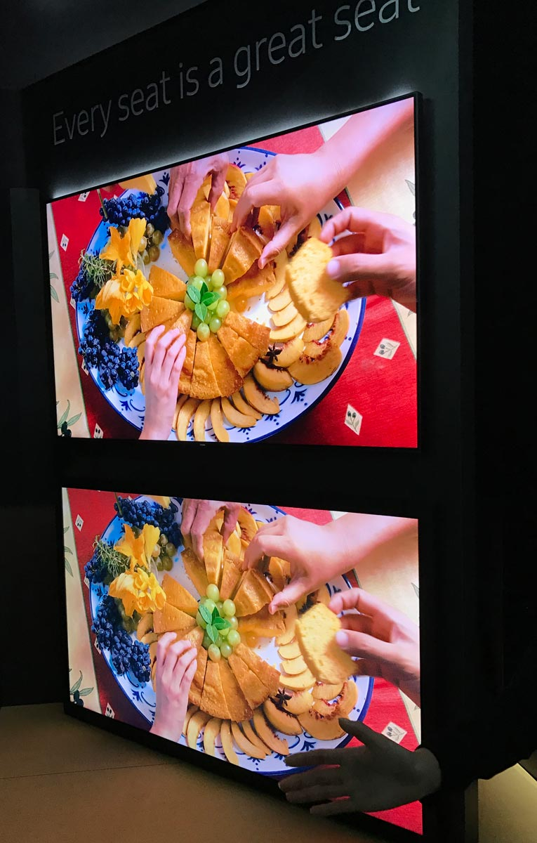 """hands-on with samsung's 2017 """"qled"""" tvs (& technical information"""