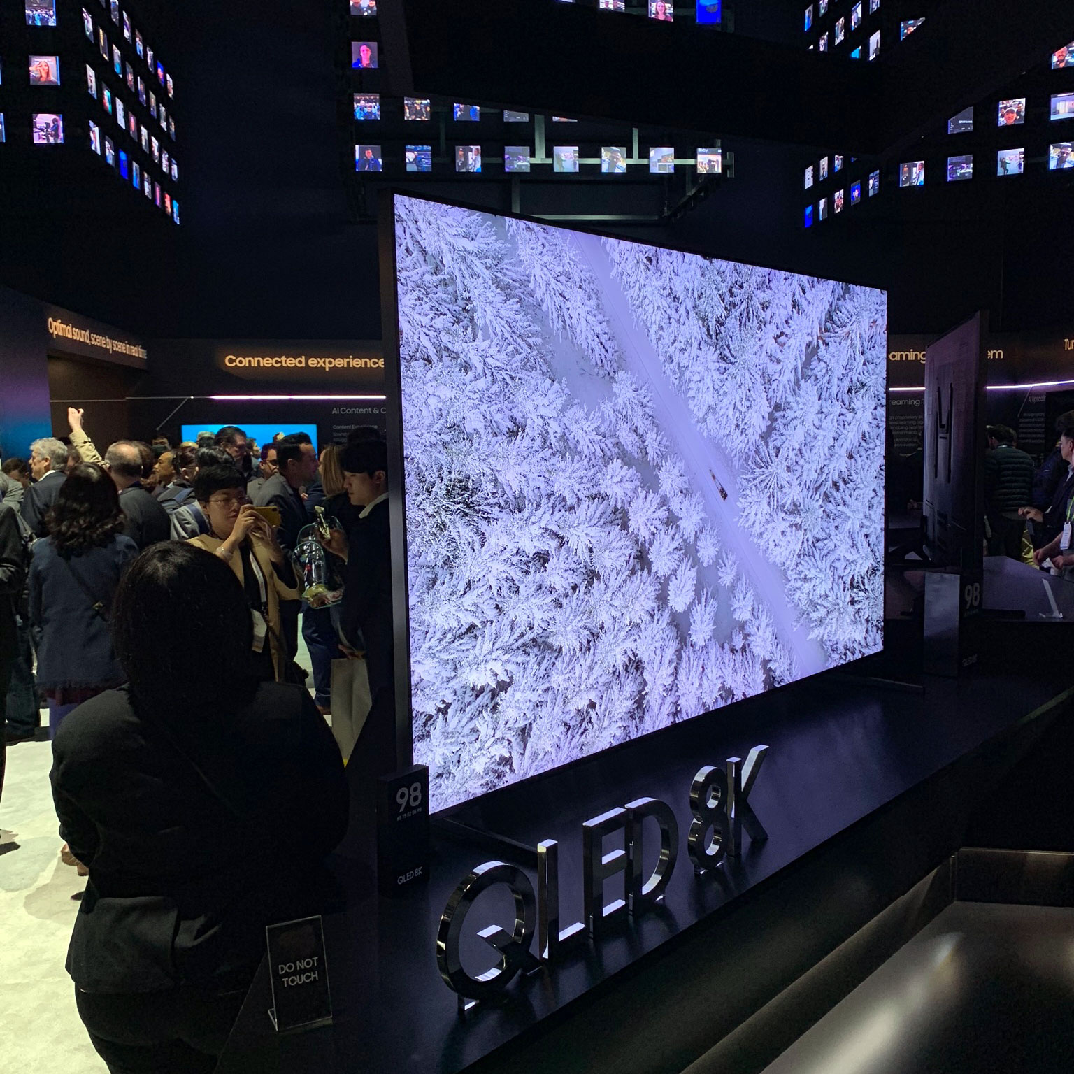 First impressions of Samsung's 2019 4K & 8K 'QLED' LCD TVs