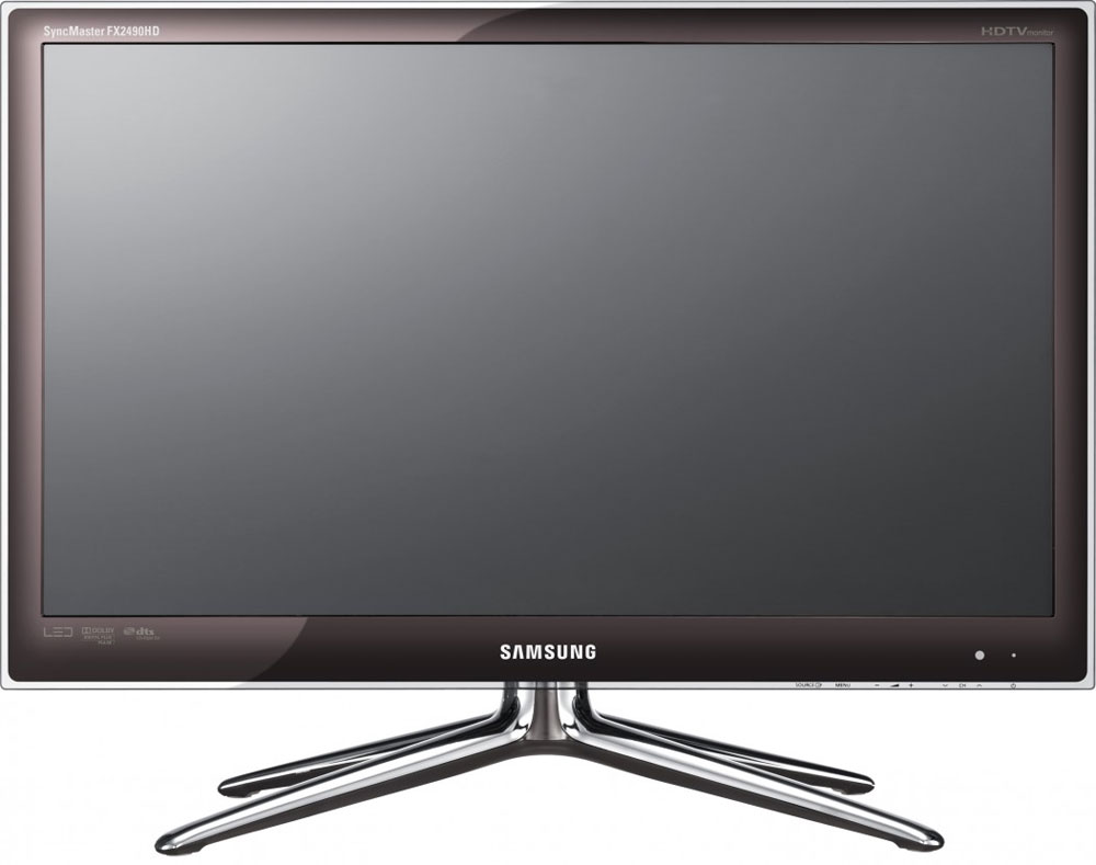 samsung fx2490hd pc monitor with tv tuner flatpanelshd. Black Bedroom Furniture Sets. Home Design Ideas