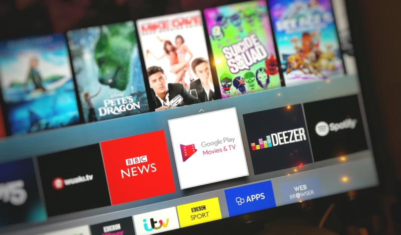 Google Play Movies & TV' launches on 2016 Samsung Smart TV