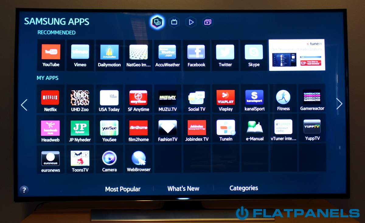 how to use iview on samsung tv
