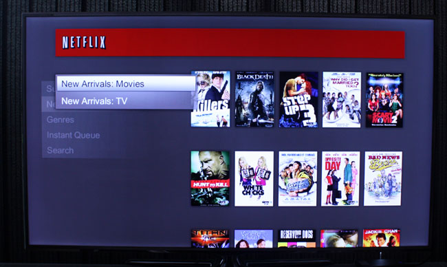 With Netflix you can see movies and TV shows/documentaries