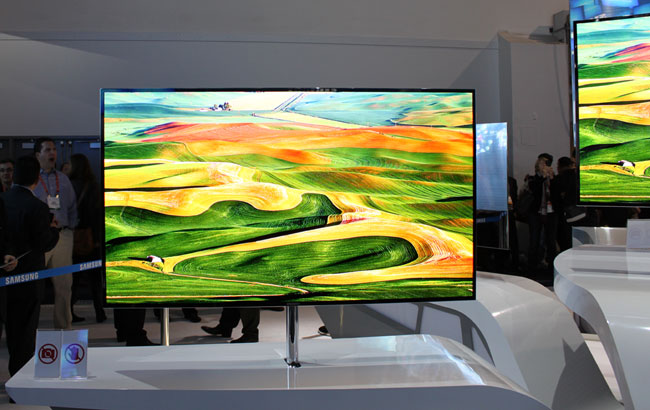 Samsung�s 55-inch Super OLED-TV