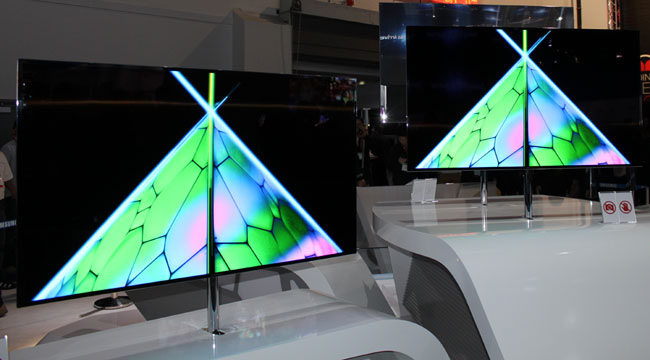 Samsung's 55-inch Super OLED-TV