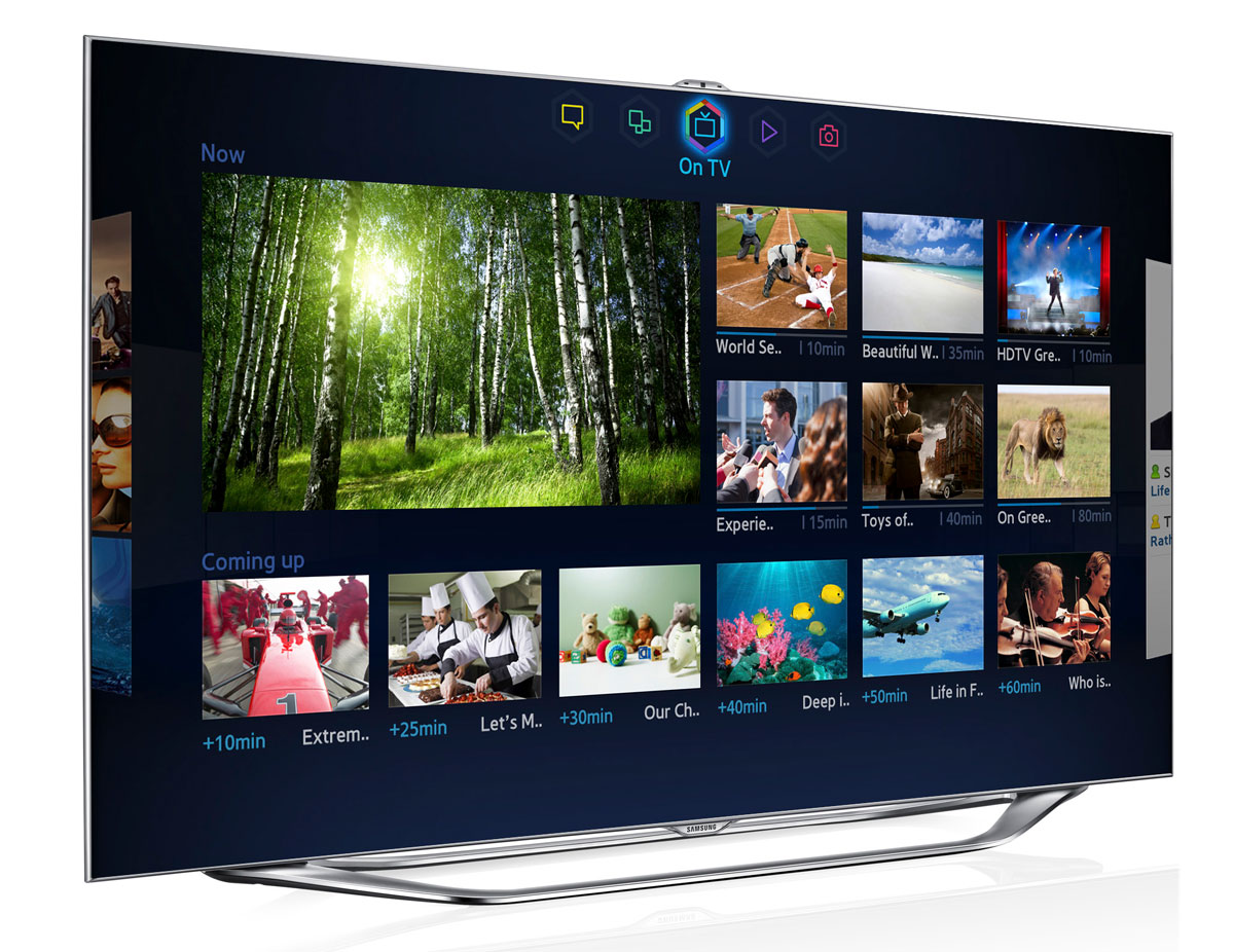Sneak peek at samsung s 2013 smart tv platform with a new tv guide