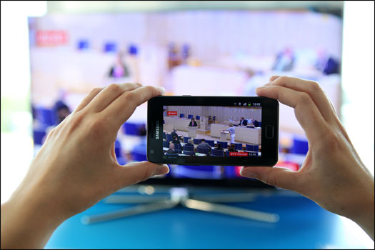 Watch TV channels you're your TV on your smartphone