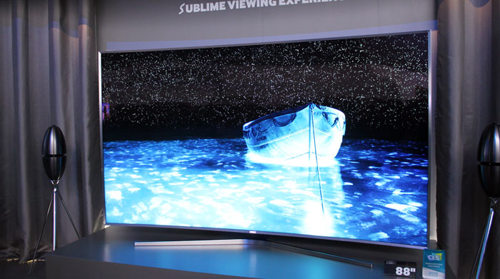 Samsung SUHD with quantum dots
