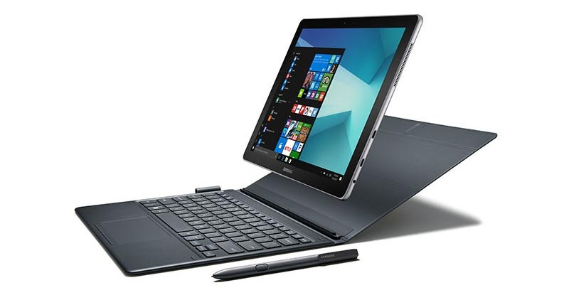 Samsung Galaxy Book Windows 10 tablet