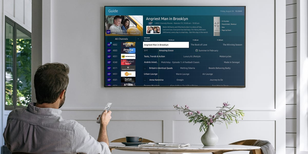 Samsung Tv Plus Gets Ui Refresh Coming To More Eu Countries In 2021 Flatpanelshd