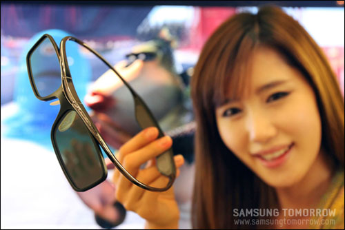 Samsung's new ultra-lightweight 3D glasses