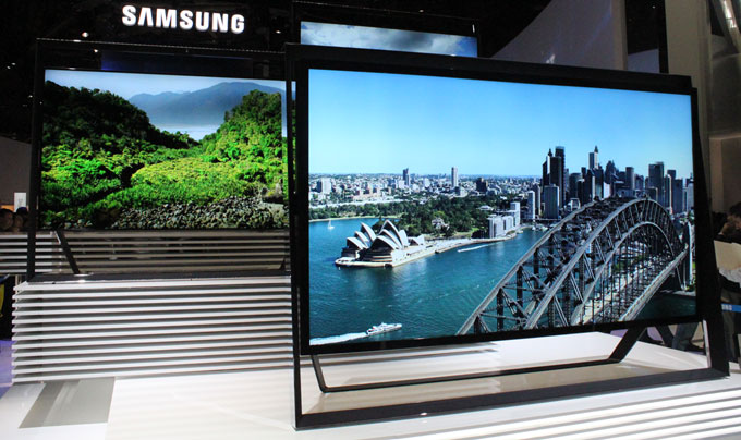 Samsung's Ultra HD TV was unveiled at CES