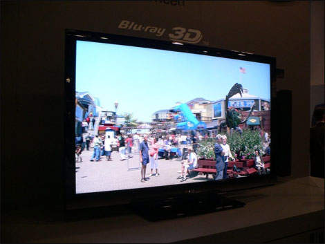 Sharp 3DTV with built-in 3D Blu-Ray player