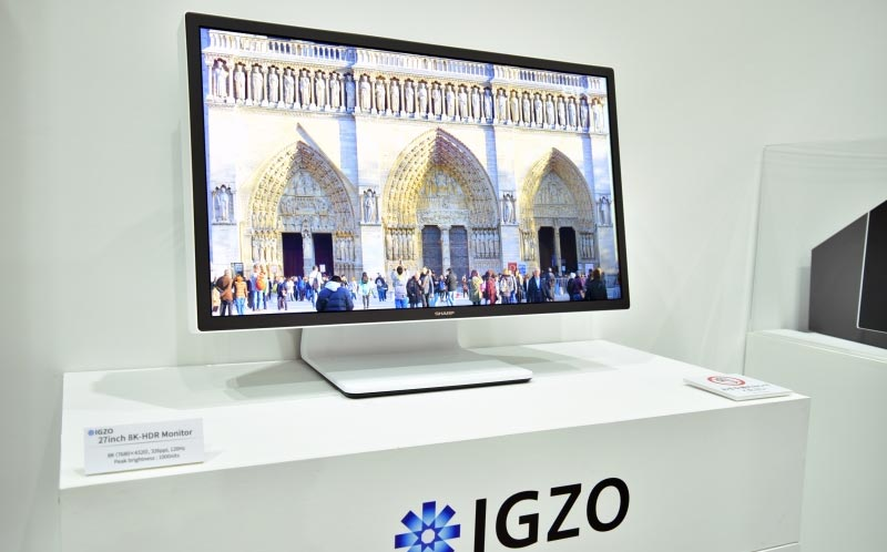 Sharp 8K 120 Hz