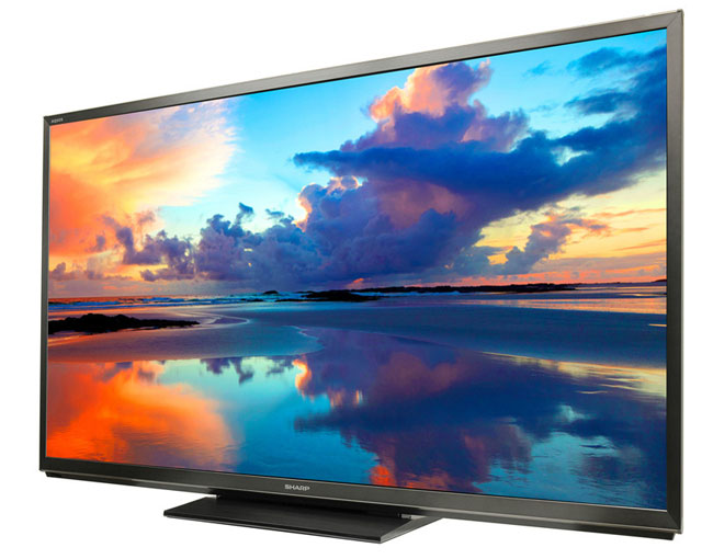 Sharp's new 8-series TVs are now shipping in 60 and 70 inches