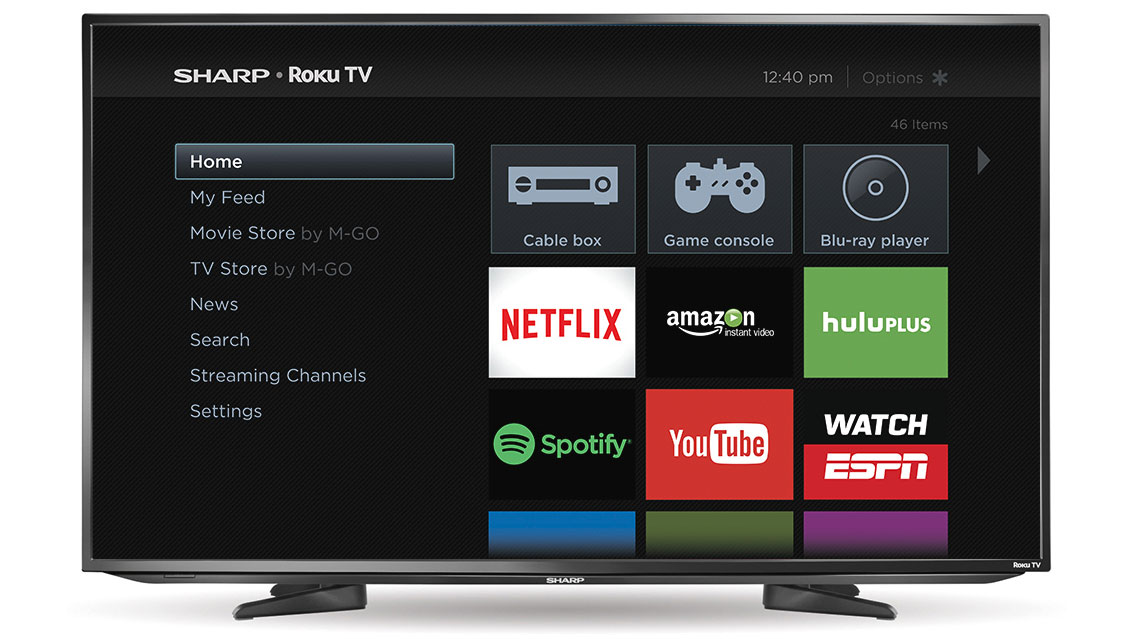 how to download apps on smart tv sharp