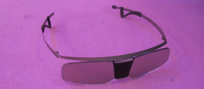 Sony 2012 3D glasses