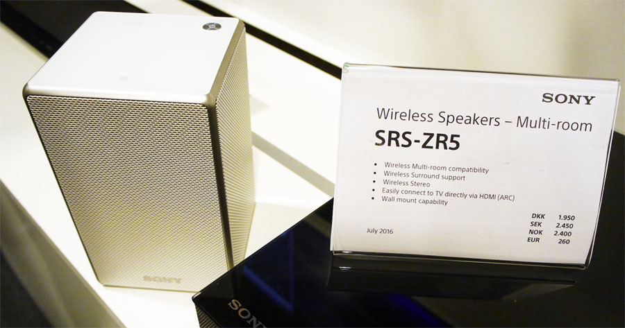 Sony ZR5 wireless speaker