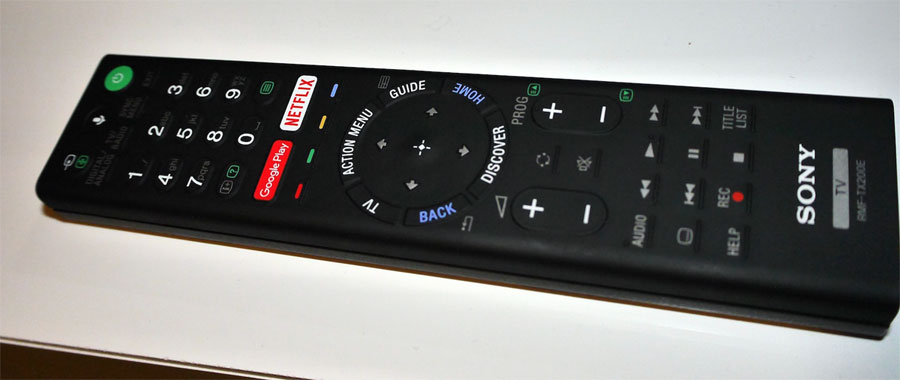 Sony 2016 remote
