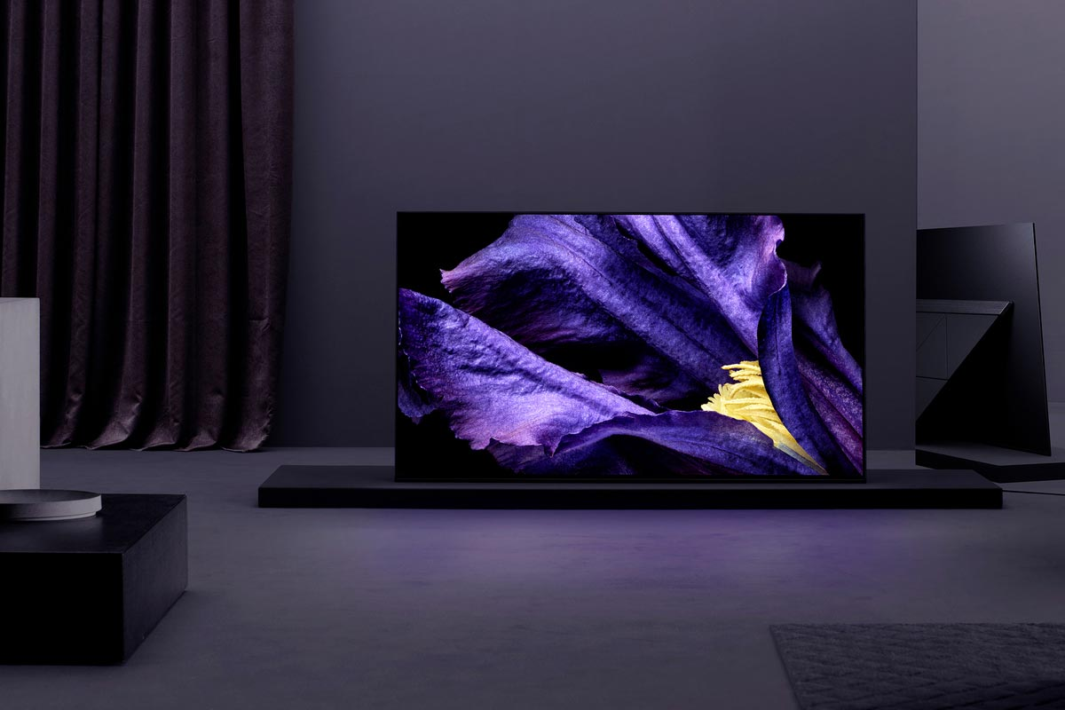 Sony Unveils Master Series Of Tvs With A9f Oled And Z9f Lcd Tv Test Pattern Generator Wireless Model