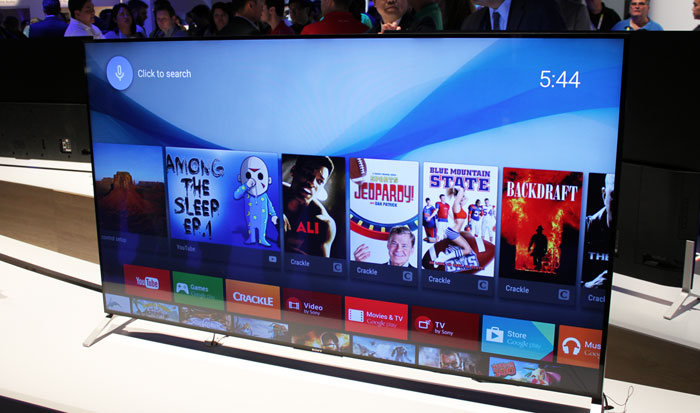 Sony Android TV at CES 2015